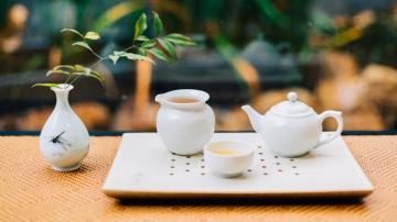 精美的茶具唯美图片,高清壁纸,摄影图片,静物写真-好运图库