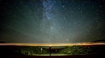 夜晚的星空是最美的,高清壁纸,摄影图片,静物写真-好运图库