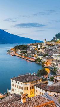 全欧最美的加尔达湖,锁屏图片,高清手机壁纸,风景-好运图库