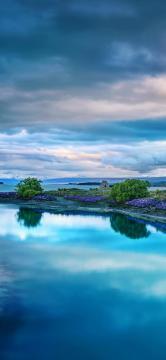 花海岛的风情-锁屏图片-高清手机壁纸-风景-好运图库