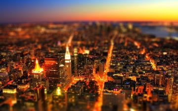 移轴镜头摄影下的城市,高清壁纸,摄影图片,静物写真-好运图库