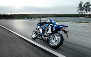 酷炫雅马哈摩托车跑车,高清壁纸图片-好运图库