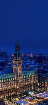 唯美浪漫的欧洲城市风景,锁屏图片,高清手机壁纸,风景-好运图库