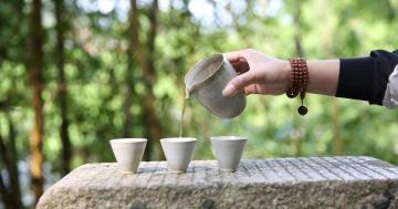 一盏茶的时光-高清壁纸-时光记忆-好运图库