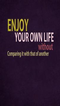 享受你的生活,锁屏图片,高清手机壁纸,另类-好运图库