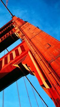 金门大桥,锁屏图片,高清手机壁纸,风景-好运图库