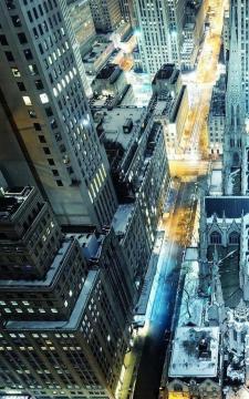 纽约圣帕特里克大教堂,锁屏图片,高清手机壁纸,风景-好运图库