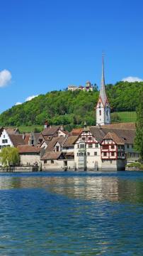 瑞士施泰因高清手机壁纸-好运图库