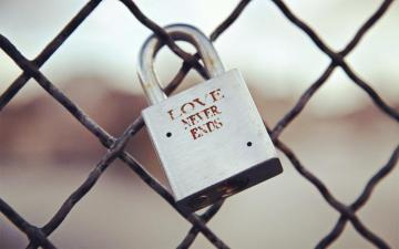 锁住爱情,高清壁纸,摄影图片,静物写真-好运图库