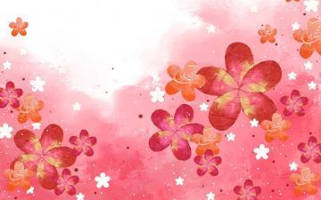梦幻花朵背景图片,高清壁纸图片,色彩背景-好运图库