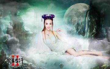 时尚嫩模王羽潞网游代言,高清壁纸图片,游戏美女-好运图库