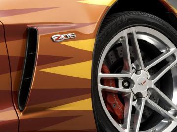 雪佛兰克尔维特 Z06跑车,高清图片,汽车壁纸-好运图库