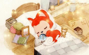 阿狸-动漫图片-好运图库