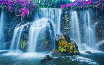 贵州黄果树瀑布高清壁纸-好运图库