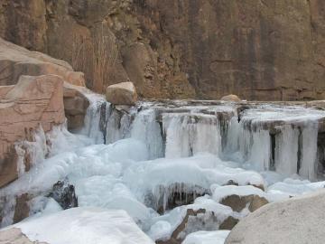 唯美的崂山冬景,高清壁纸,风景图片-好运图库