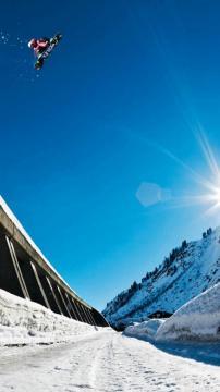 单板滑雪大空冬季运动,锁屏图片,高清手机壁纸,体育-好运图库