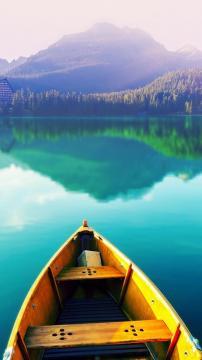 梦幻湖,锁屏图片,高清手机壁纸,风景-好运图库