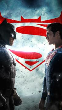 蝙蝠侠vs超人海报,锁屏图片,高清手机壁纸,影视-好运图库