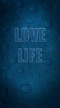 爱生活蓝高清手机壁纸-好运图库