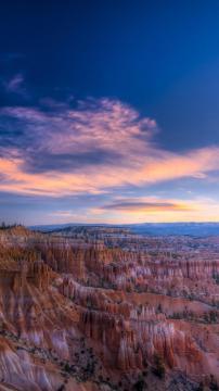 美国布赖斯峡谷,锁屏图片,高清手机壁纸,风景-好运图库