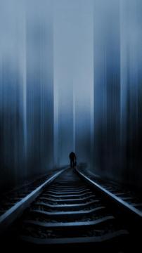 铁路到毁灭,锁屏图片,高清手机壁纸,风景-好运图库