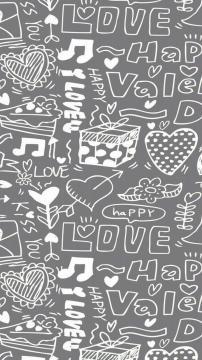 幸福涂鸦,锁屏图片,高清手机壁纸,另类-好运图库