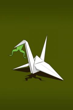 纸鹤的猎物,锁屏图片,高清手机壁纸-好运图库