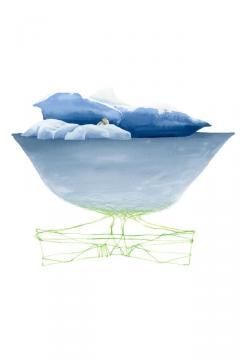 冰川插画,锁屏图片,高清手机壁纸-好运图库