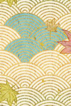 枫叶落水插图,锁屏图片,高清手机壁纸-好运图库