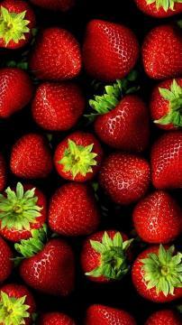 新鲜草莓高清手机壁纸-好运图库