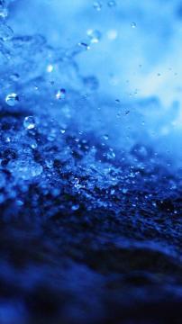 水滴飞溅特写高清手机壁纸-好运图库
