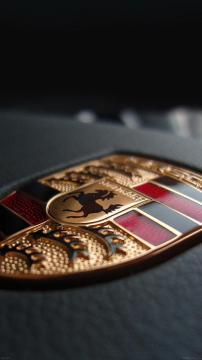 保时捷徽章标志,锁屏图片,高清手机壁纸,汽车-好运图库