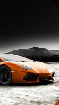 兰博基尼Aventador,锁屏图片,高清手机壁纸,汽车-好运图库