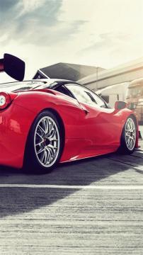 法拉利458,锁屏图片,高清手机壁纸,汽车-好运图库
