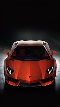 兰博基尼红色跑车,锁屏图片,高清手机壁纸,汽车-好运图库
