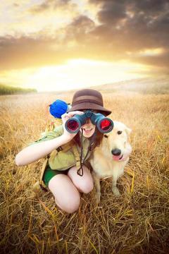 最可爱的狗狗高清手机壁纸-好运图库