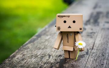 亚马逊纸盒人壁纸-好运图库