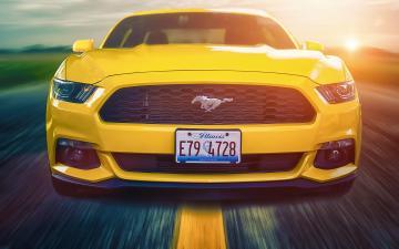 福特野马Mustang高清美系壁纸-好运图库