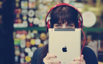 苹果设备经典壁纸-好运图库