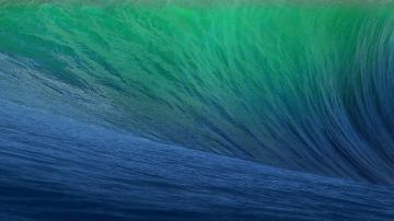 Mac OS X Mavericks待机壁纸