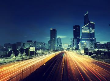现代建筑与城市图片-好运图库