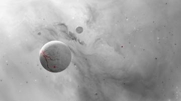 白色星球-好运图库