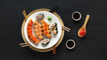 海鲜寿司-好运图库