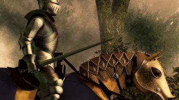 骑马的士兵-好运图库