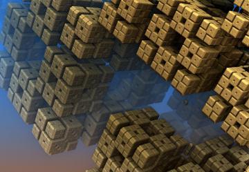 3D立体图案-好运图库