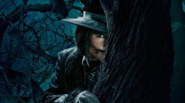树林里的男人-好运图库