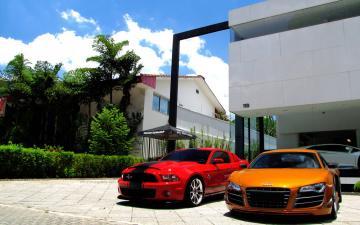 城市建筑与汽车图片-好运图库