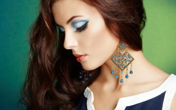 美容化妆美女模特-好运图库