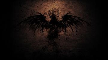 复古老鹰背景图
