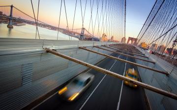 布鲁克林大桥风光